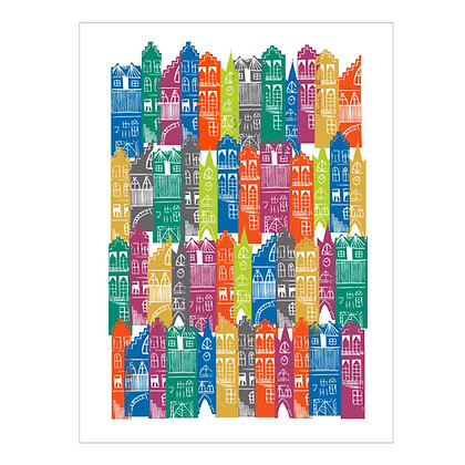 Edinburgh Cityscape Print