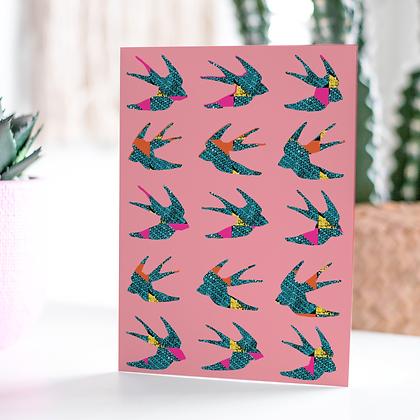 Swallows Card