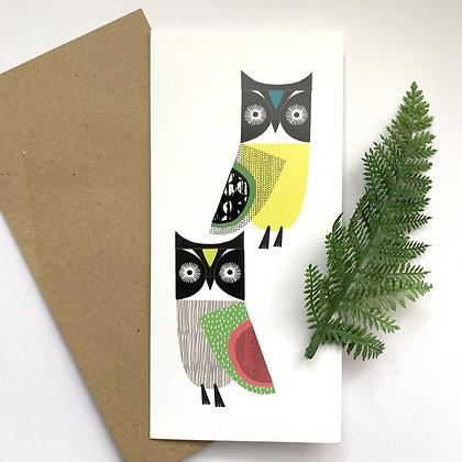 Owls Card