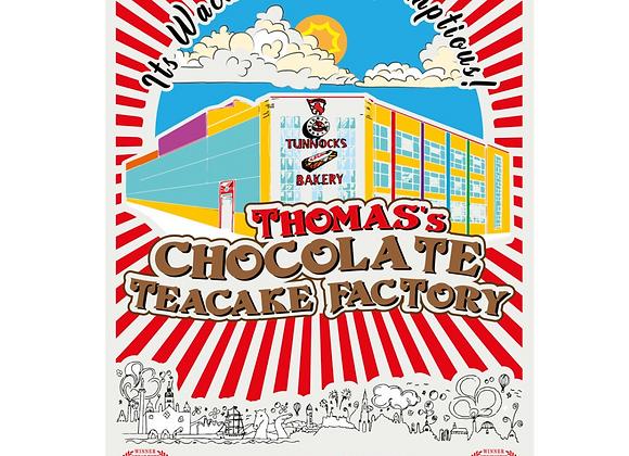 Chocolate Teacake Factory Print