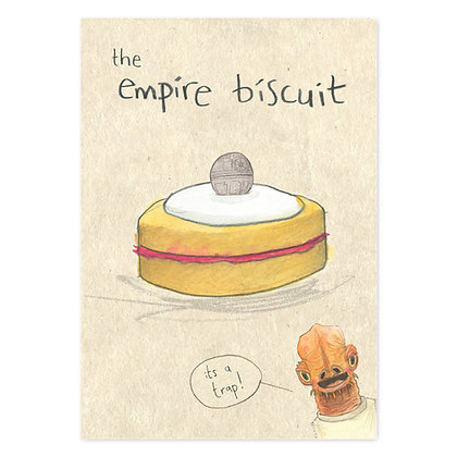 Empire biscuit Grey Earl Card