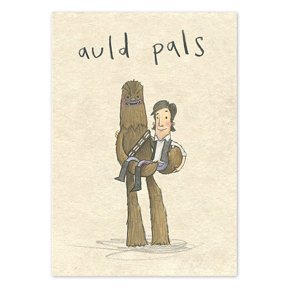 Auld pals Grey Earl Card