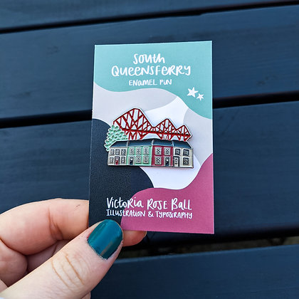 South Queensferry Pin Badge