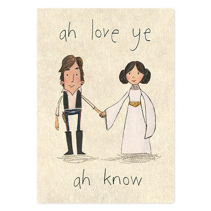 Ah Love Ye Card