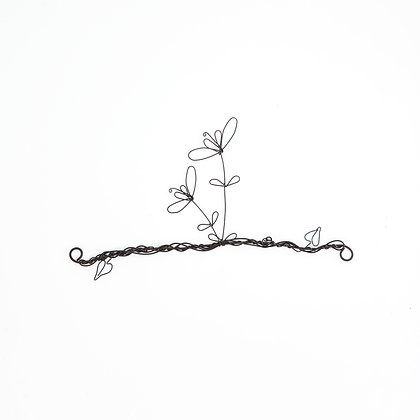 Wire Art Single Bloom