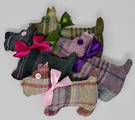 Tweed Lavender Bag