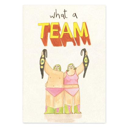 What a team el Macho Grey Earl Card