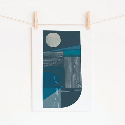 Winter Fields Print