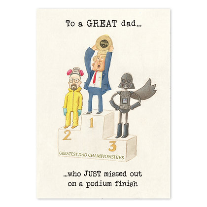 The Grey Earl Father's Day Card