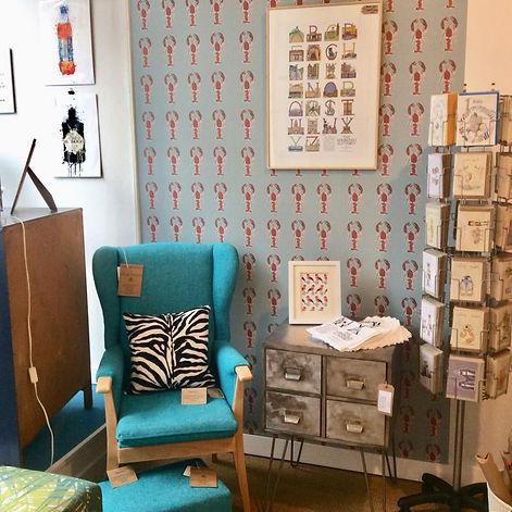 Interior display in An Independnet Zebra