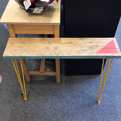 Scaffolding Console Table