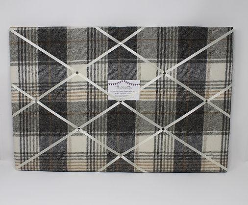 Grey Noticeboard in Tweed