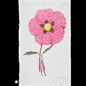 Cistus Flower Tea Towel