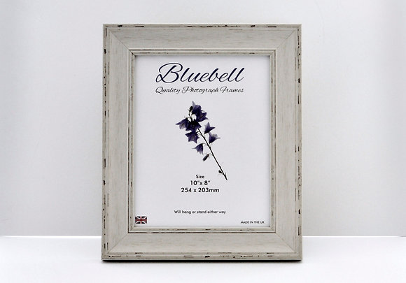 Brushed White Wooden Picture Frame