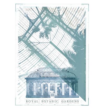 Royal Botanic Gardens Palm House Print