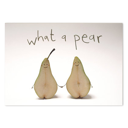 What a Pear Card