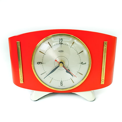 Red Upcycled clock