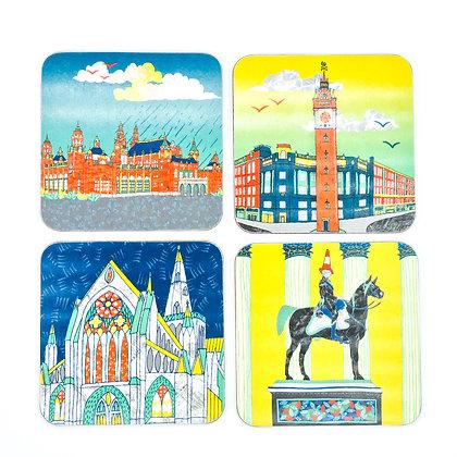 Glasgow Scenes Coasters