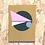 Thumbnail: Geometric Art Card Gold (Single)