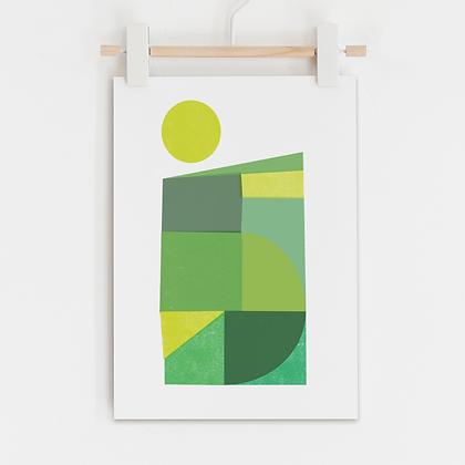 Spring Fields Print
