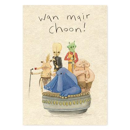 wan mair choon card The Grey Earl