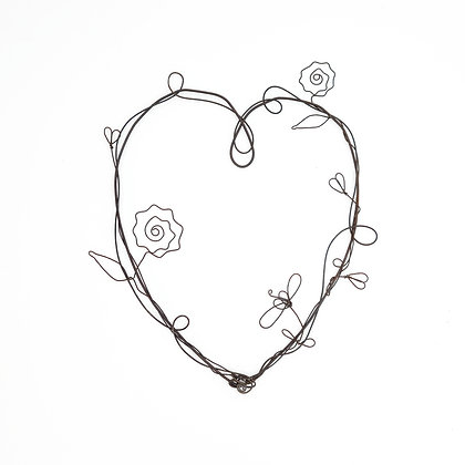 Wild at Heart Shiny Star Creations Wire Art