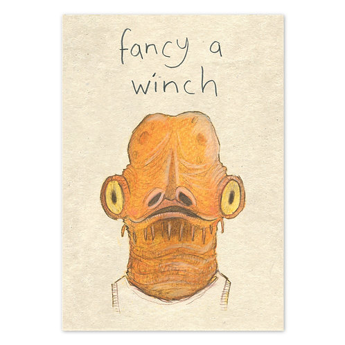 Fancy a Winch Card