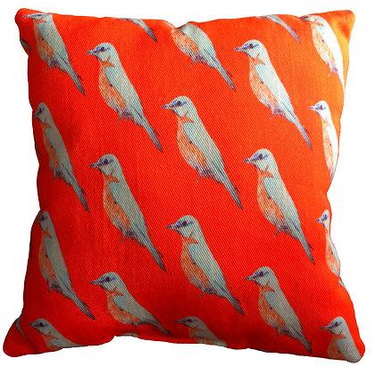 Bluebird Cushion