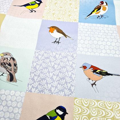 Garden Birds Tea Towel