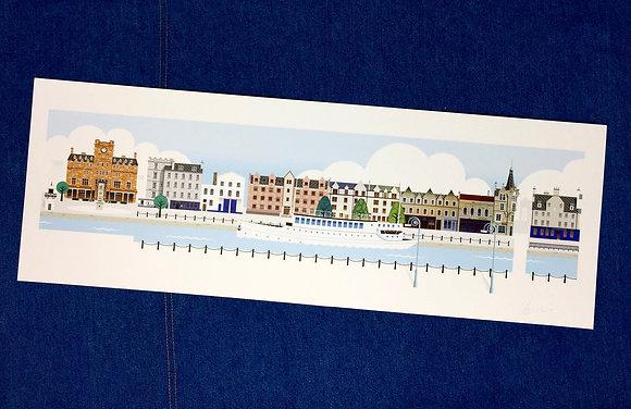 Panorama Shore Print