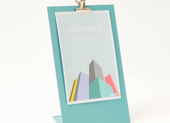 Clipboard Frame Turquoise - Medium