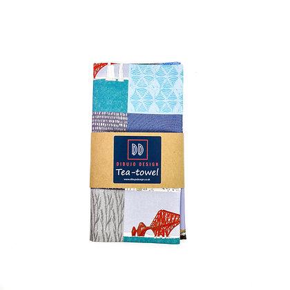 Edinburgh Landscapes Tea Towel