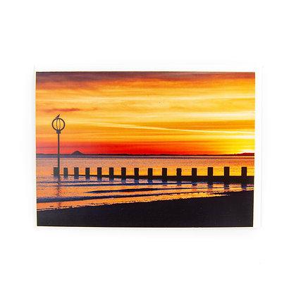 Portobello Beach Edinburgh Card