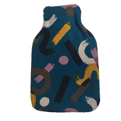 Hot Water Bottle - Paint Blue