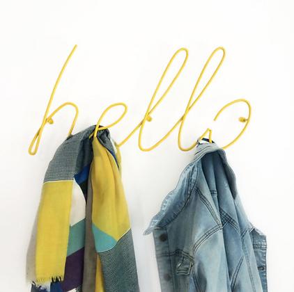 Hello Coat Rack