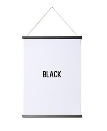 Magnetic Print Frame Black