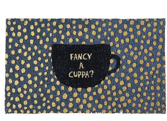 Fancy A Cuppa? Door Mat