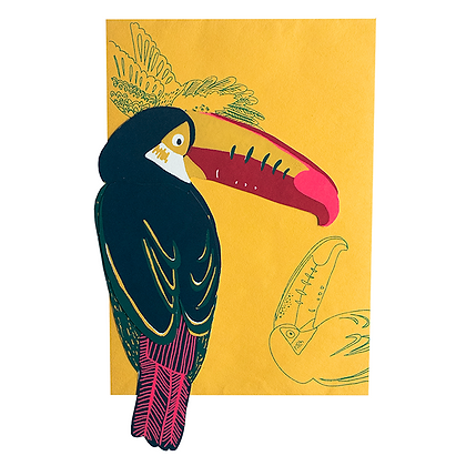 Toucan Greetings Card