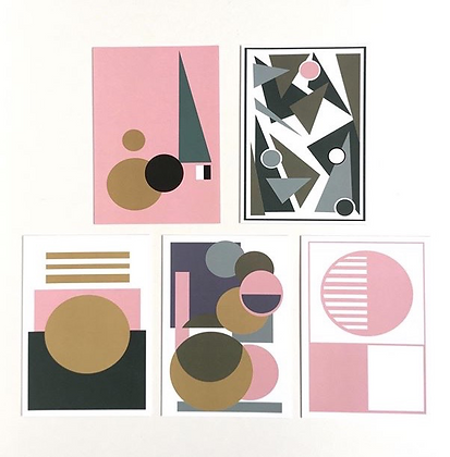 Geometric Art Card Pack (Mix 1)
