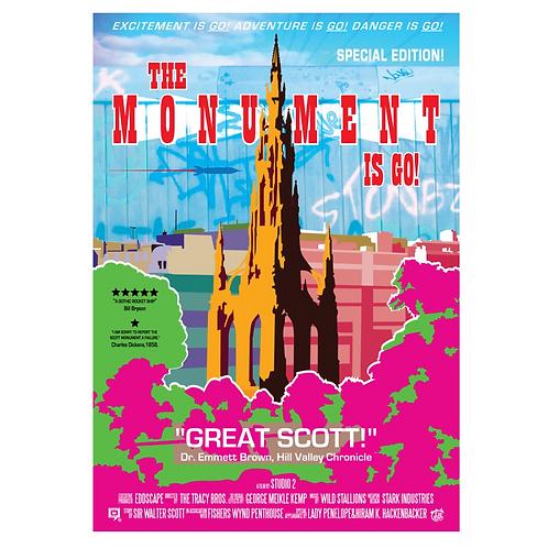 Scott Monument Print