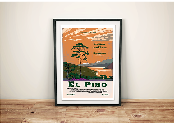 El Pino Movie Poster Print