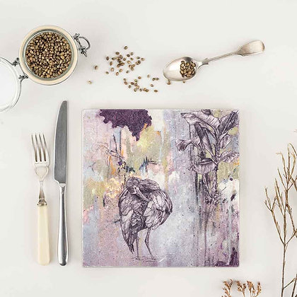 White Faced Ibis Placemat