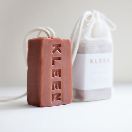 Kleen Soap on a rope