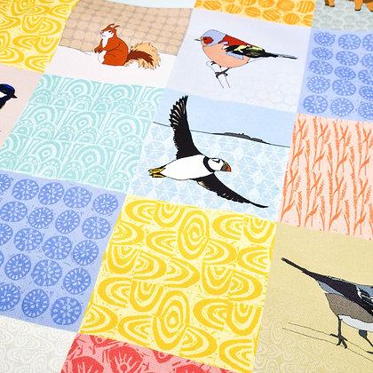 Animals Tea Towel