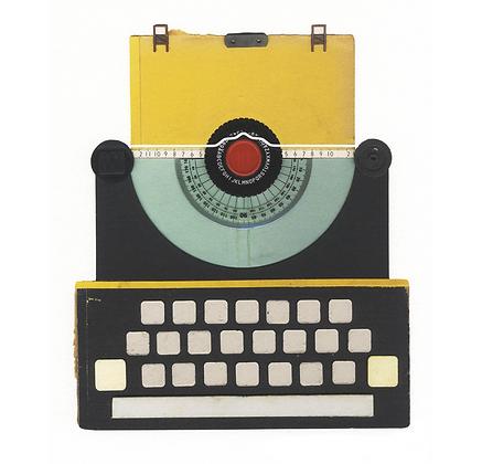 Retro Typewriter Print