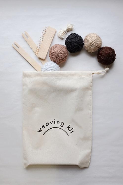 Weaving Kit - Earth Colours