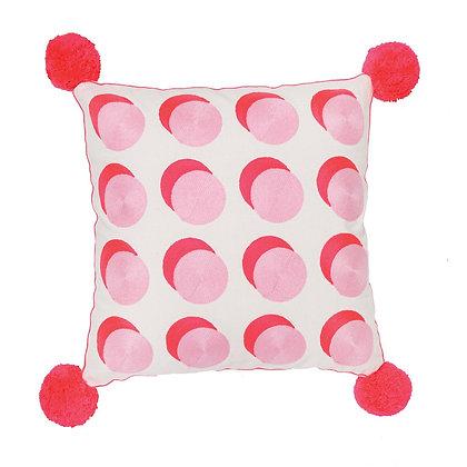 Spotty Cushion Pink