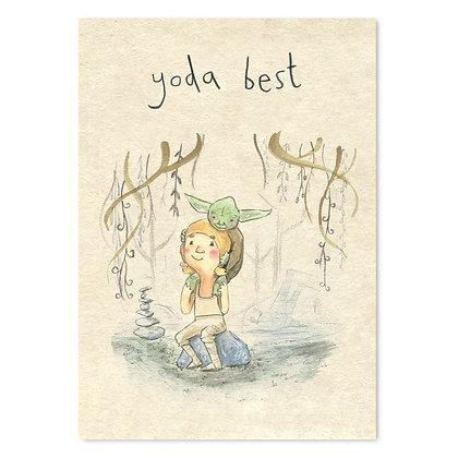 Yoda Best Grey Earl Card