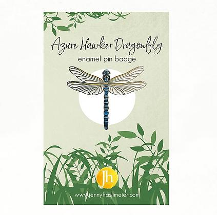 Dragonfly Enamel Pin Badge
