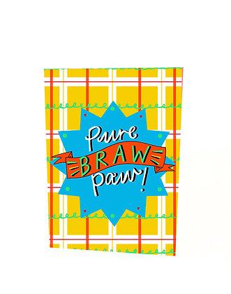 Pure Braw Paw Card